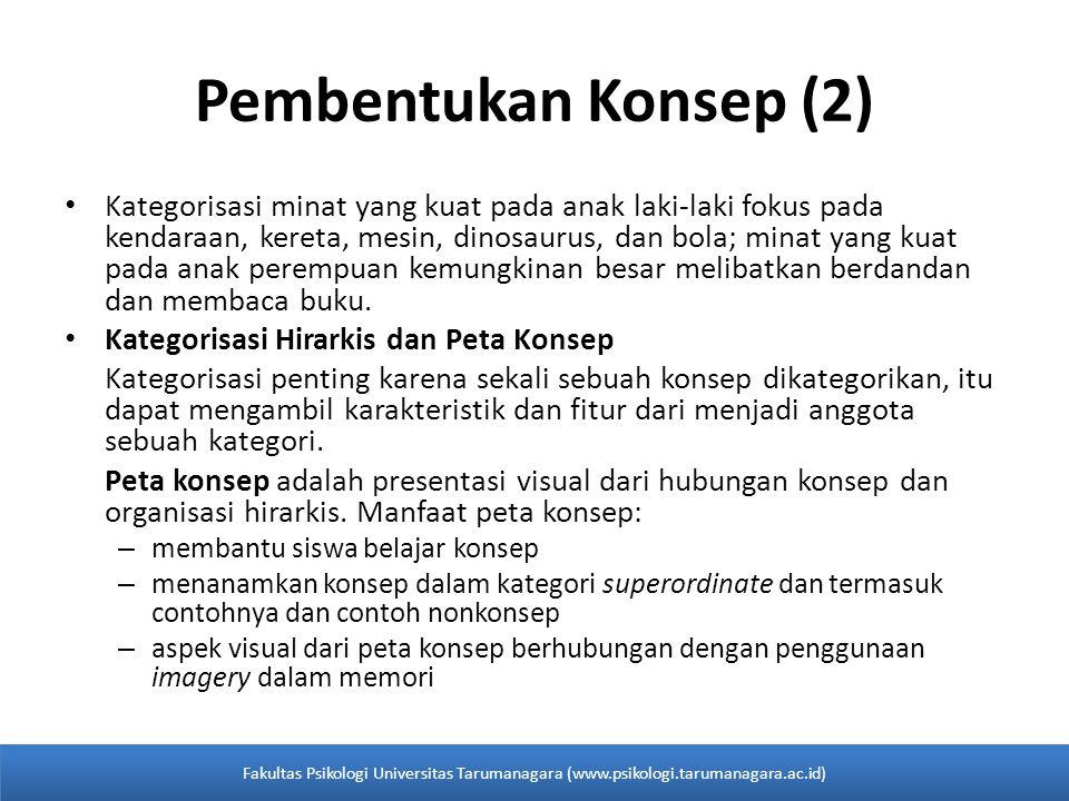 Pembentukan Konsep (2)