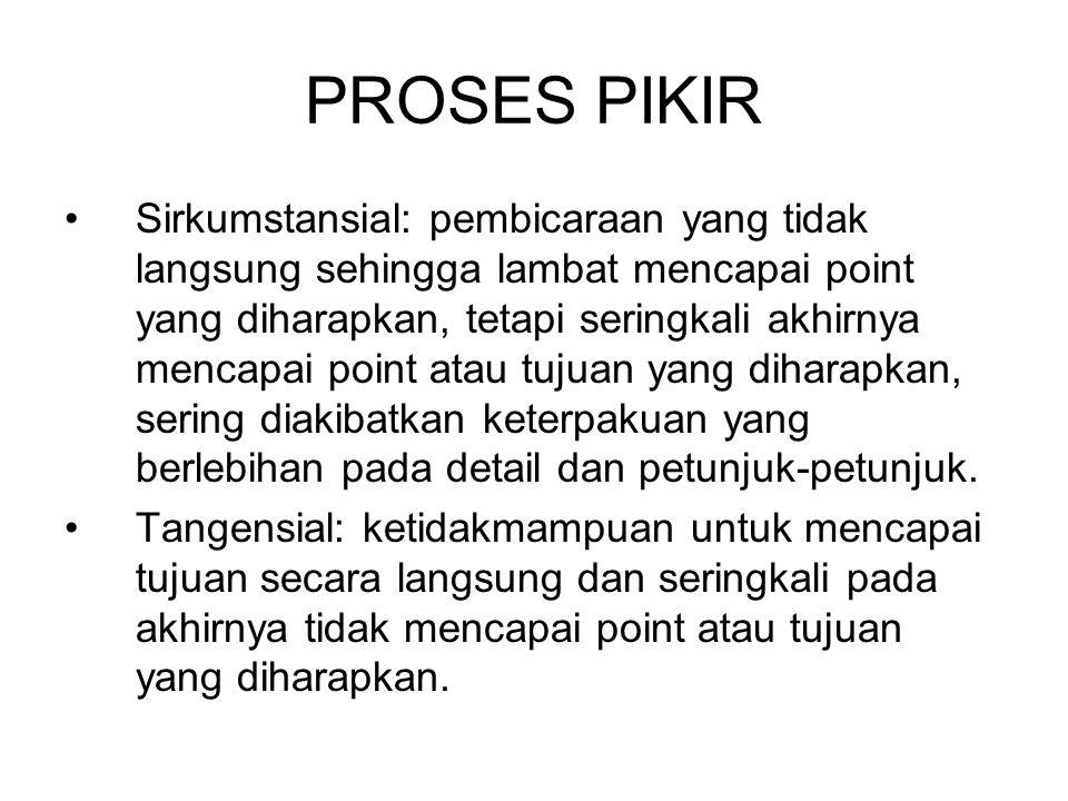 PROSES PIKIR