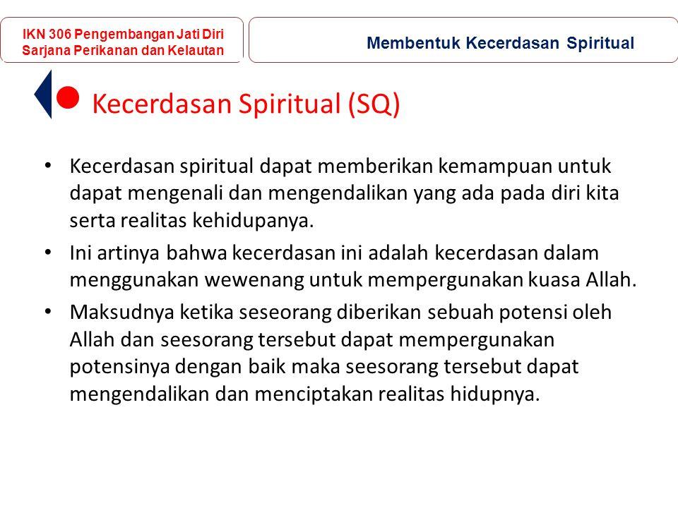 Kecerdasan Spiritual (SQ)