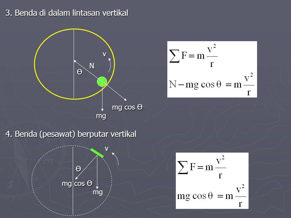 3. Benda di dalam lintasan vertikal