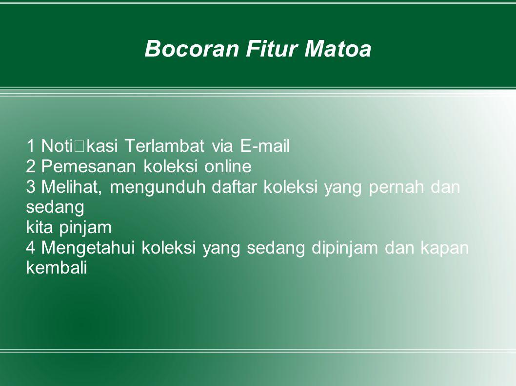 Bocoran Fitur Matoa 1 Notikasi Terlambat via E-mail