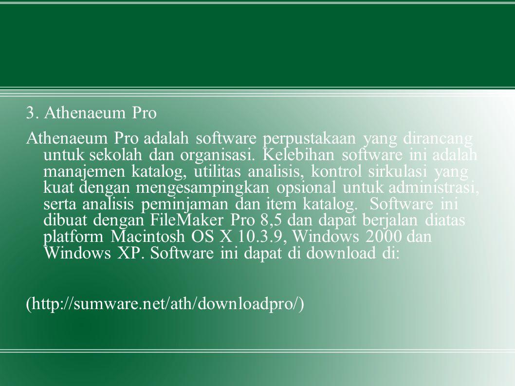 3. Athenaeum Pro