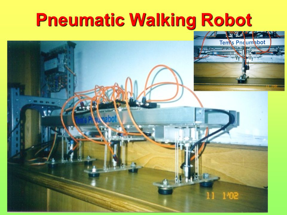 Pneumatic Walking Robot