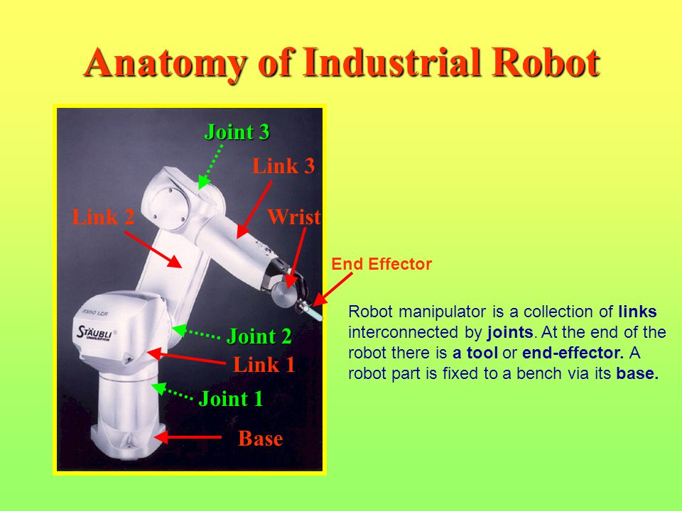 Anatomy of Industrial Robot