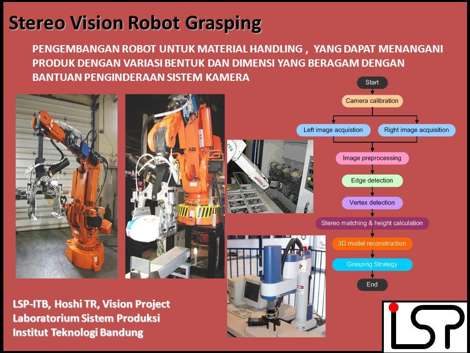 Stereo Vision Robot Grasping