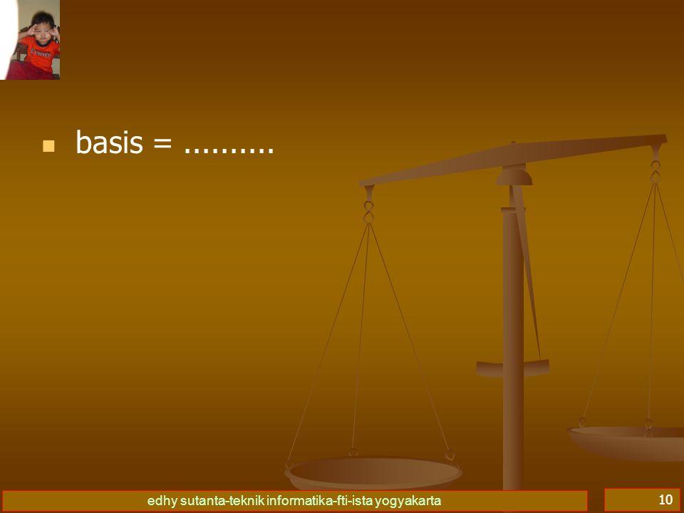 basis = ..........