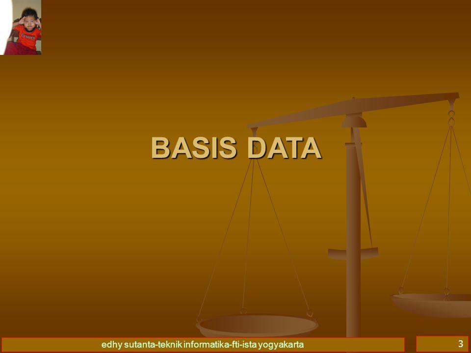 Basis Data I 09/04/2017 BASIS DATA