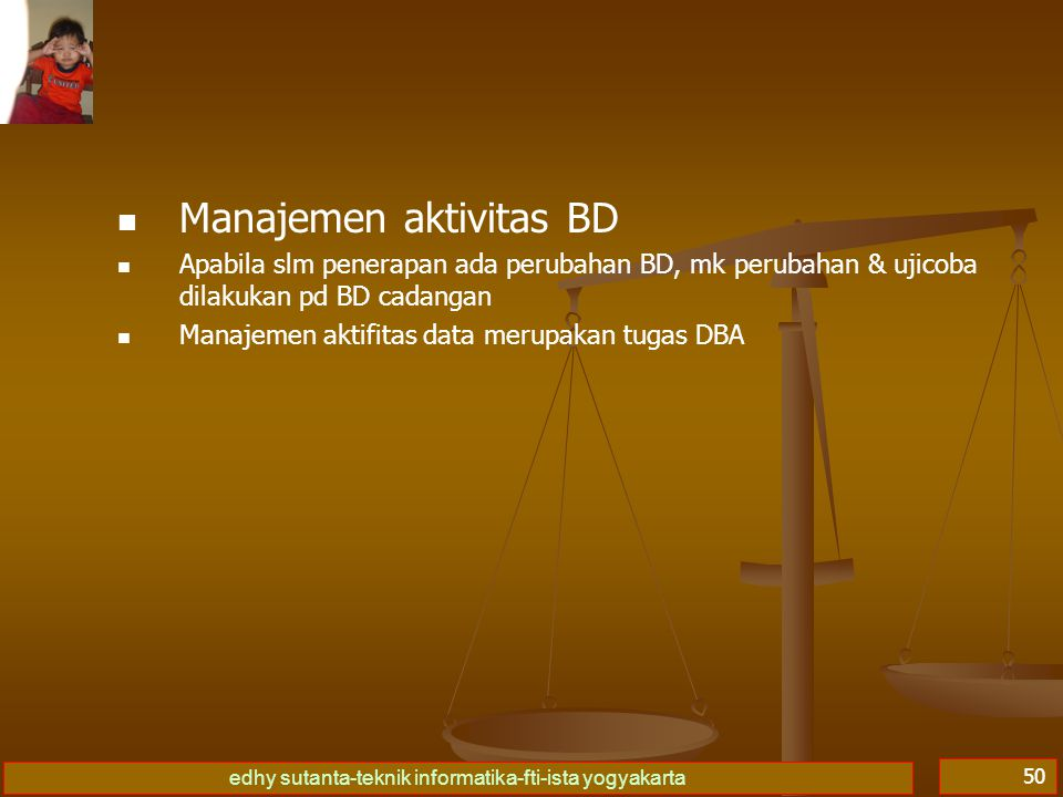 Manajemen aktivitas BD
