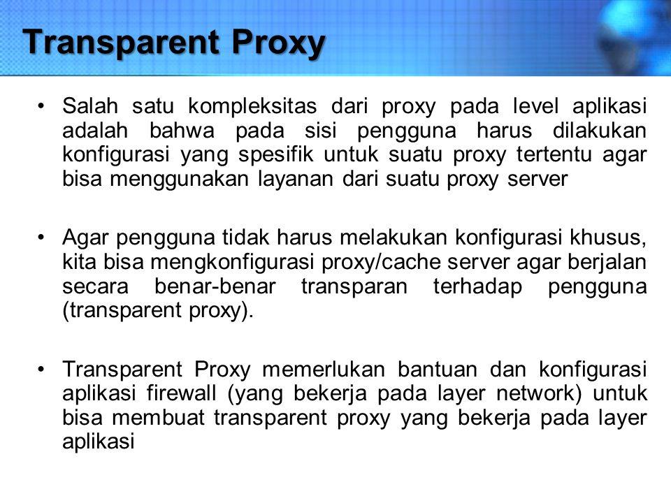 Transparent Proxy