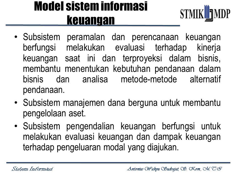 Model sistem informasi keuangan