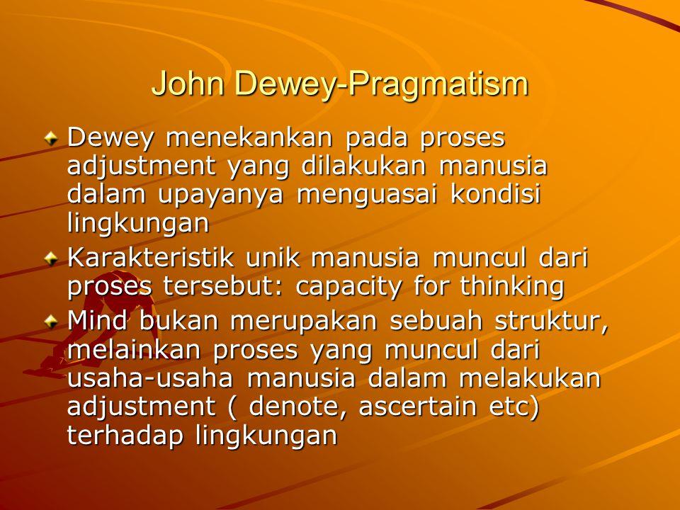 John Dewey-Pragmatism