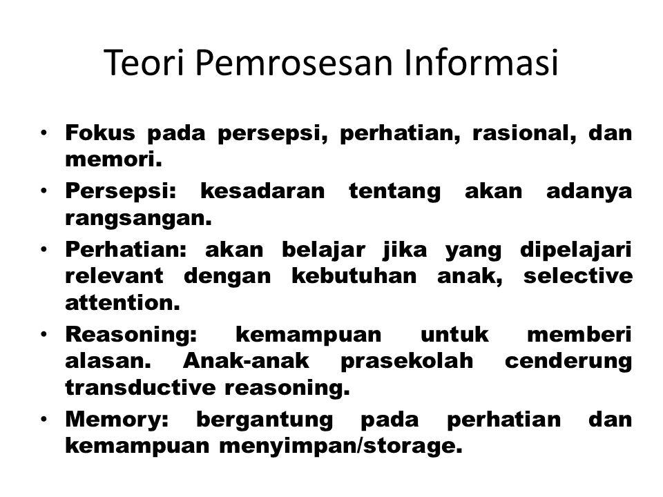 Teori Pemrosesan Informasi
