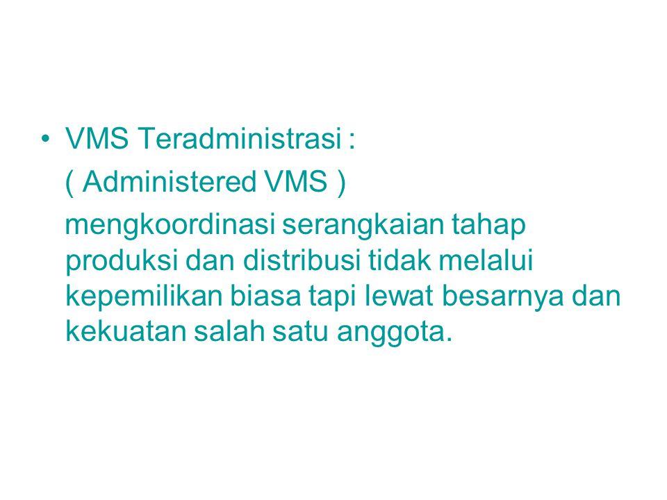 VMS Teradministrasi : ( Administered VMS )