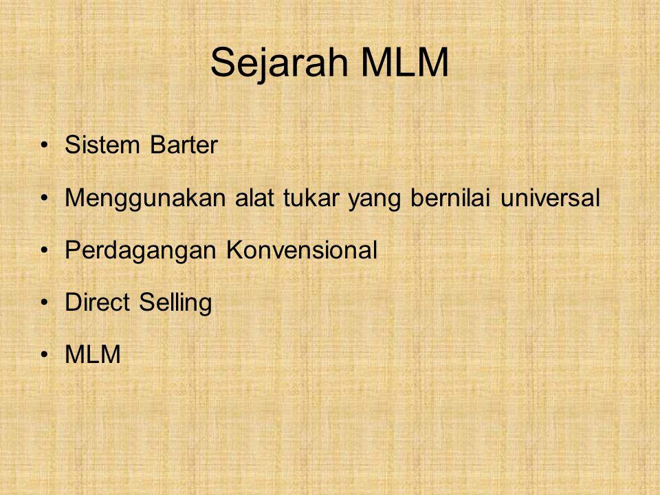 Sejarah MLM Sistem Barter