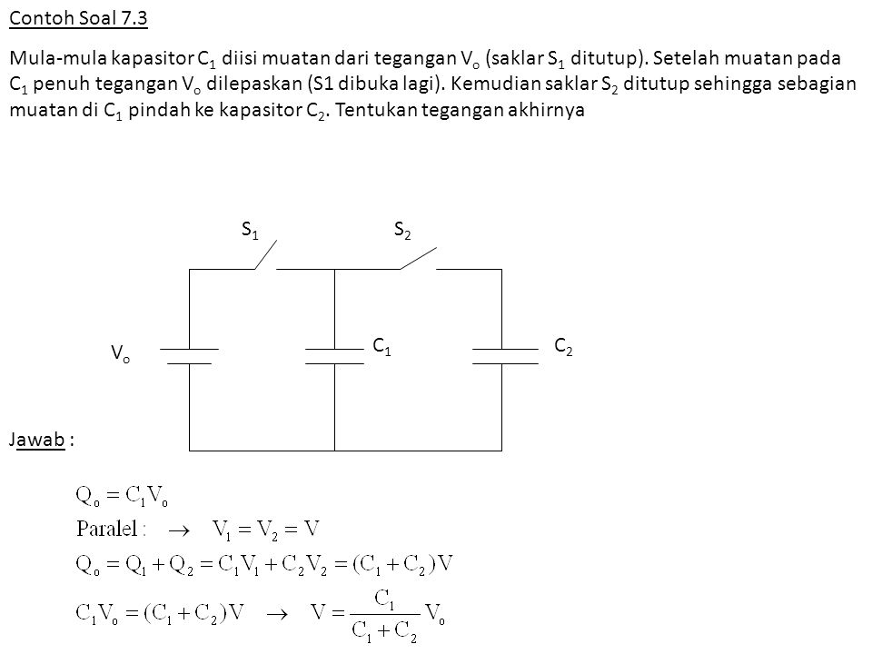 Contoh Soal 7.3