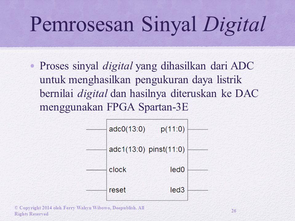 Pemrosesan Sinyal Digital