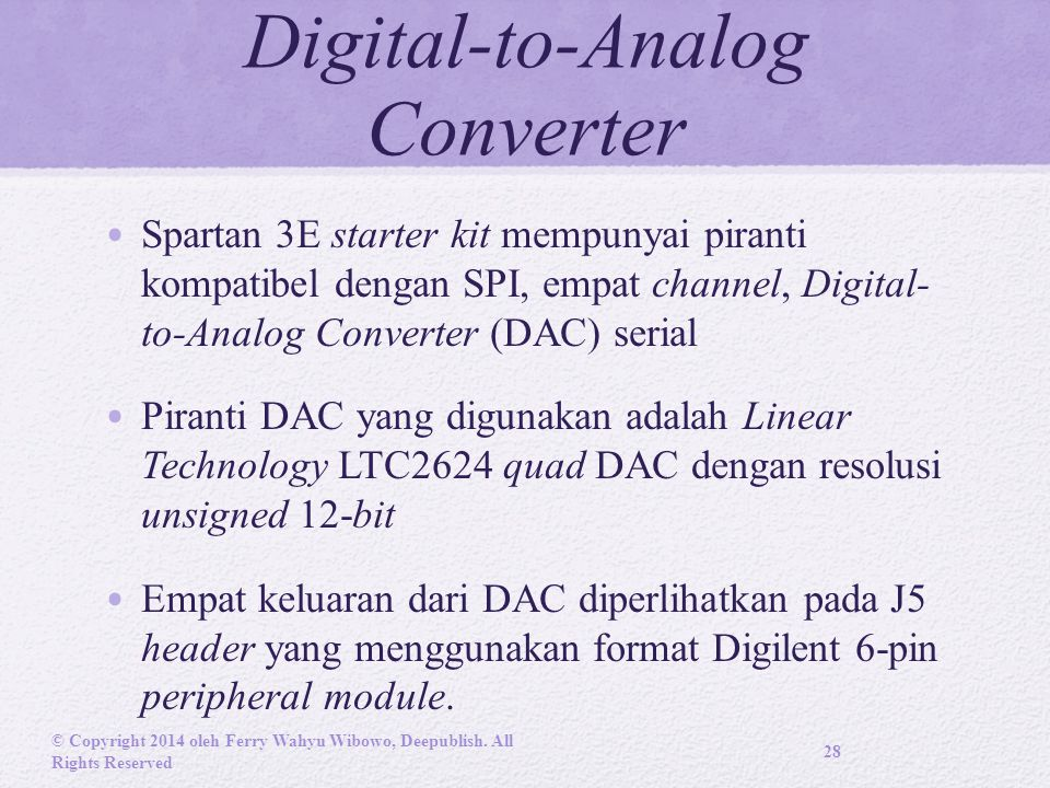 Digital-to-Analog Converter