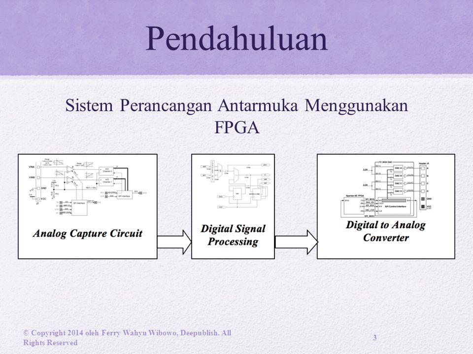 Sistem Perancangan Antarmuka Menggunakan FPGA