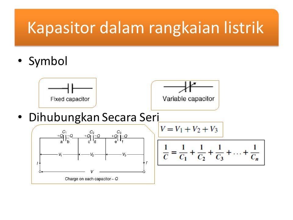 Kapasitor dalam rangkaian listrik