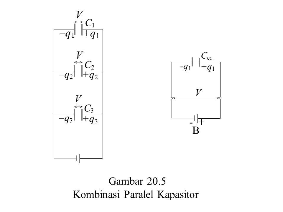 Kombinasi Paralel Kapasitor