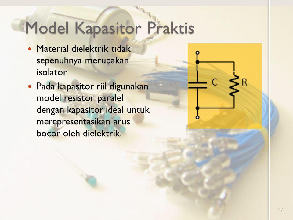 Model Kapasitor Praktis