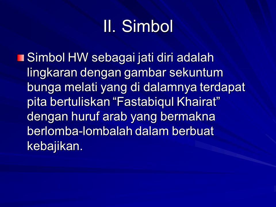 II. Simbol