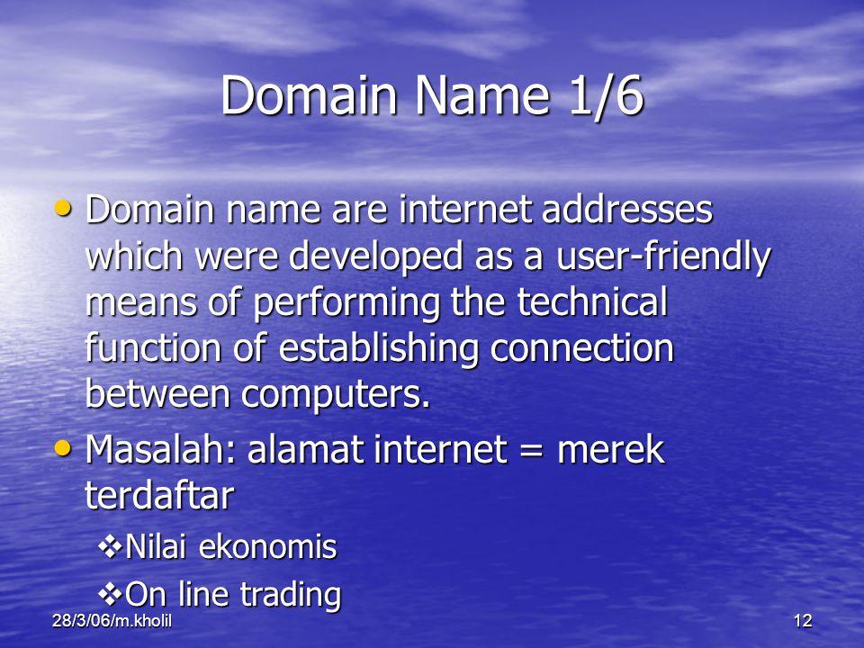 Domain Name 1/6