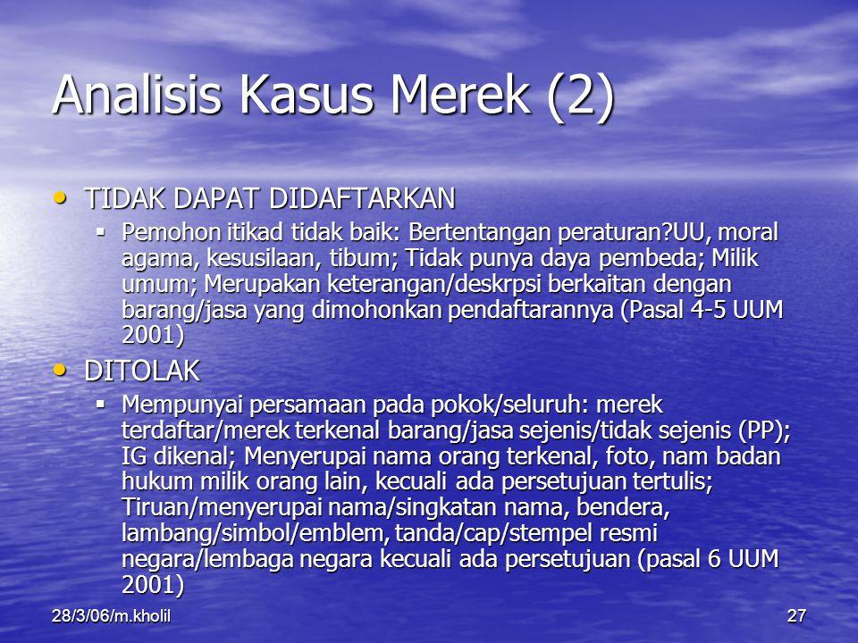 Analisis Kasus Merek (2)
