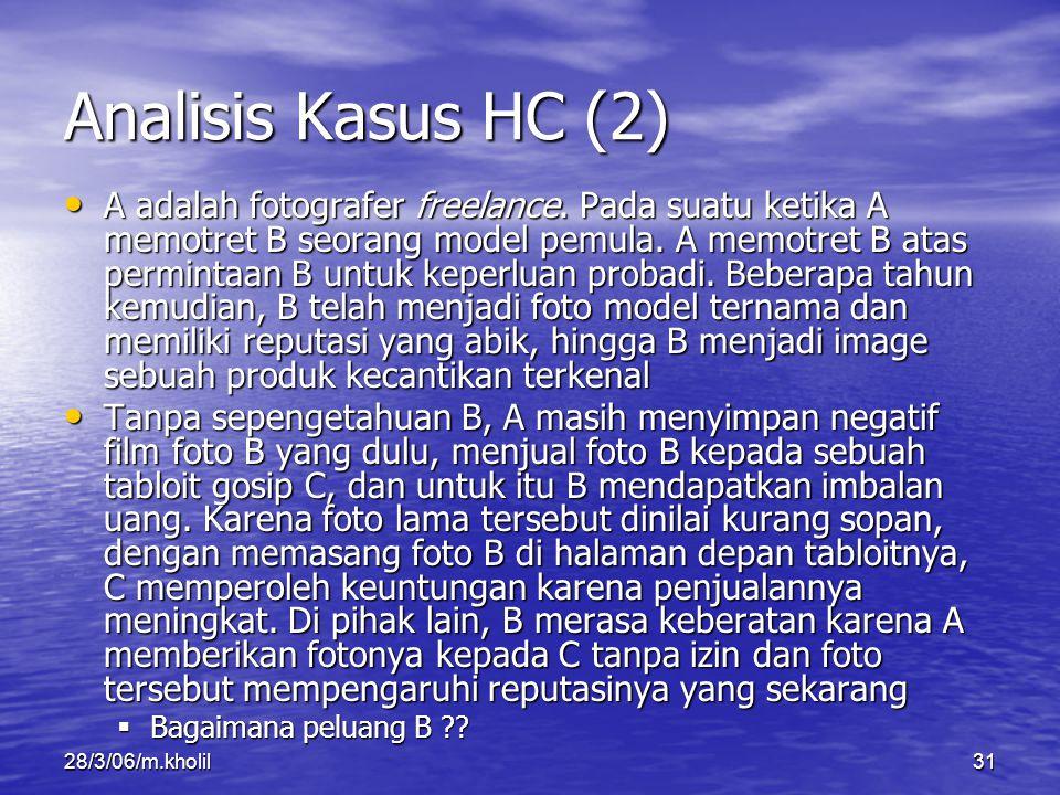 Analisis Kasus HC (2)