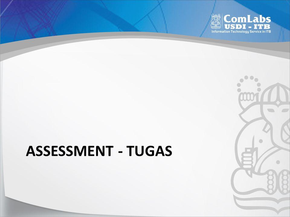 Assessment - Tugas