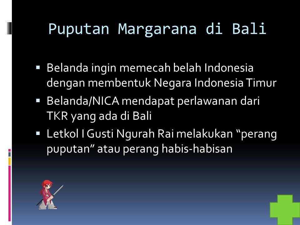 Puputan Margarana di Bali