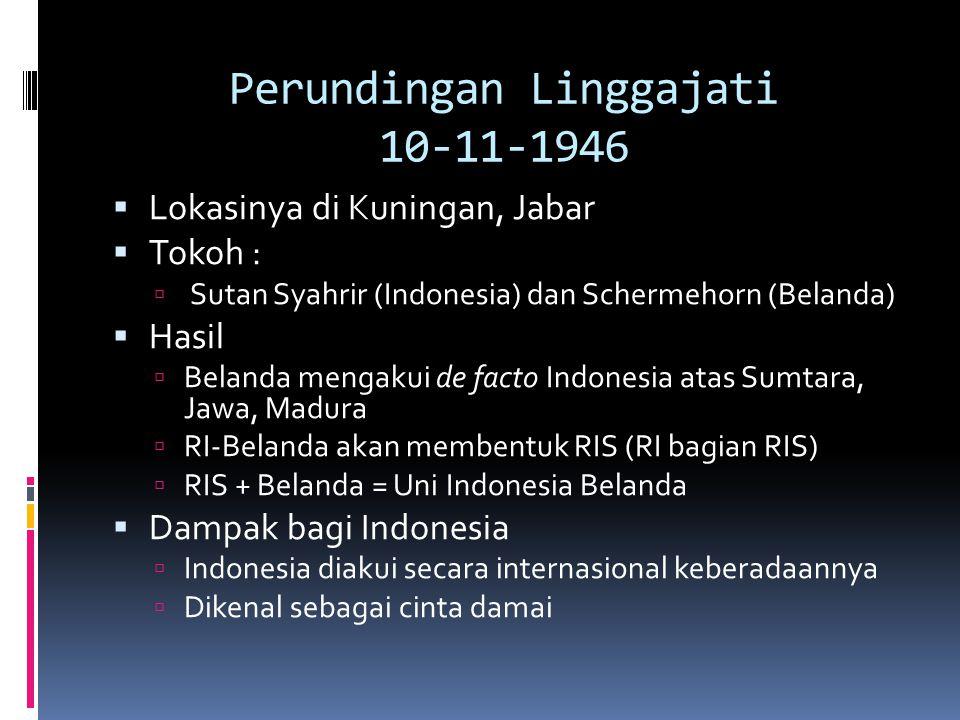 Perundingan Linggajati 10-11-1946