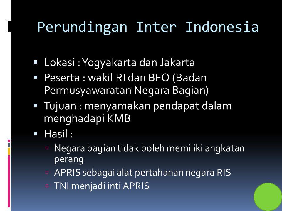 Perundingan Inter Indonesia
