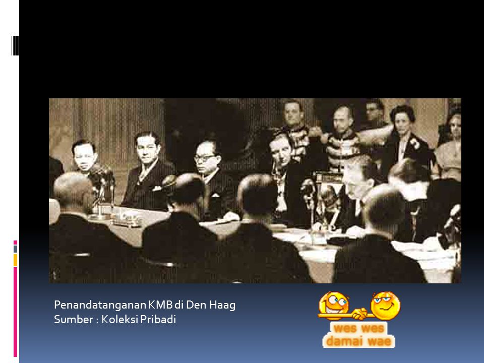 Penandatanganan KMB di Den Haag