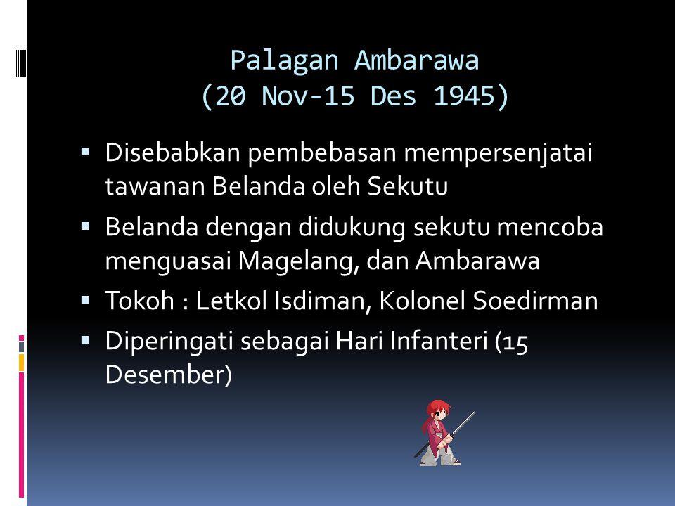 Palagan Ambarawa (20 Nov-15 Des 1945)