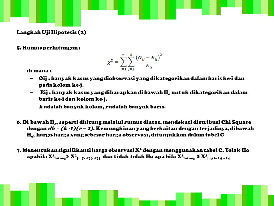 Langkah Uji Hipotesis (2)