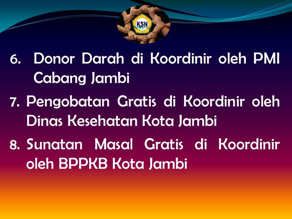 Donor Darah di Koordinir oleh PMI Cabang Jambi