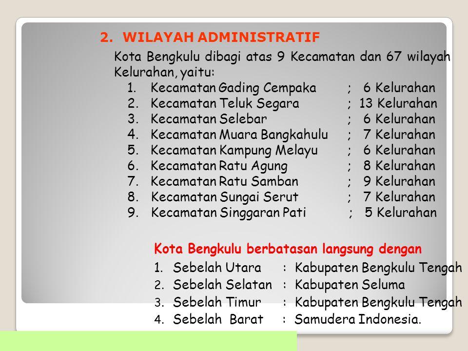 2. WILAYAH ADMINISTRATIF