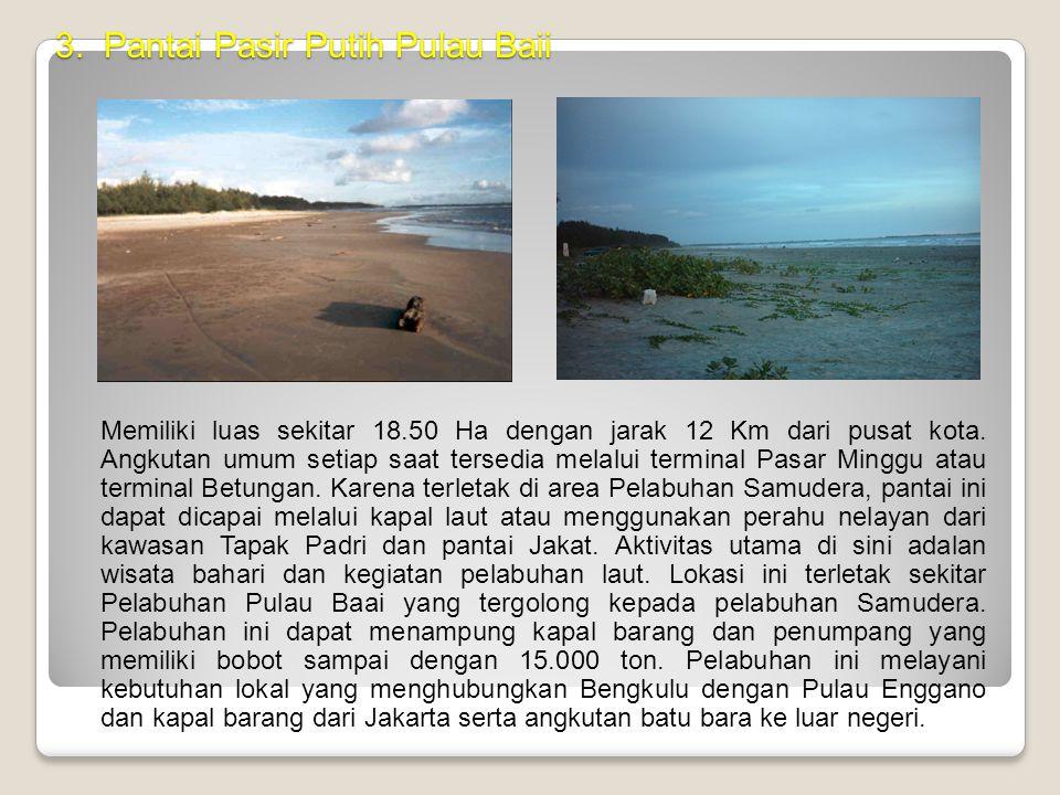 3. Pantai Pasir Putih Pulau Baii