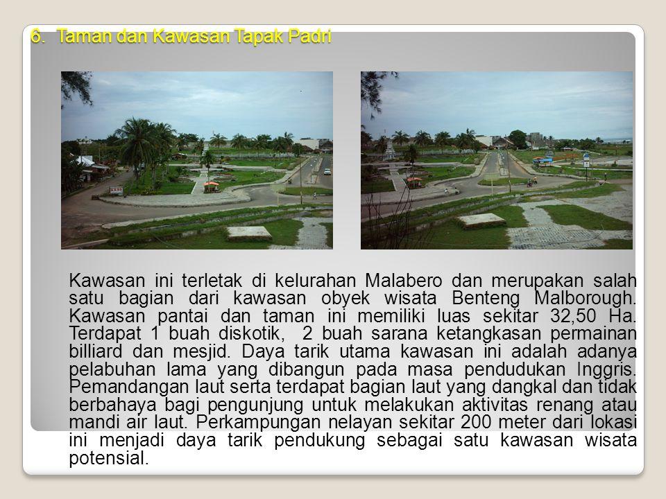 6. Taman dan Kawasan Tapak Padri