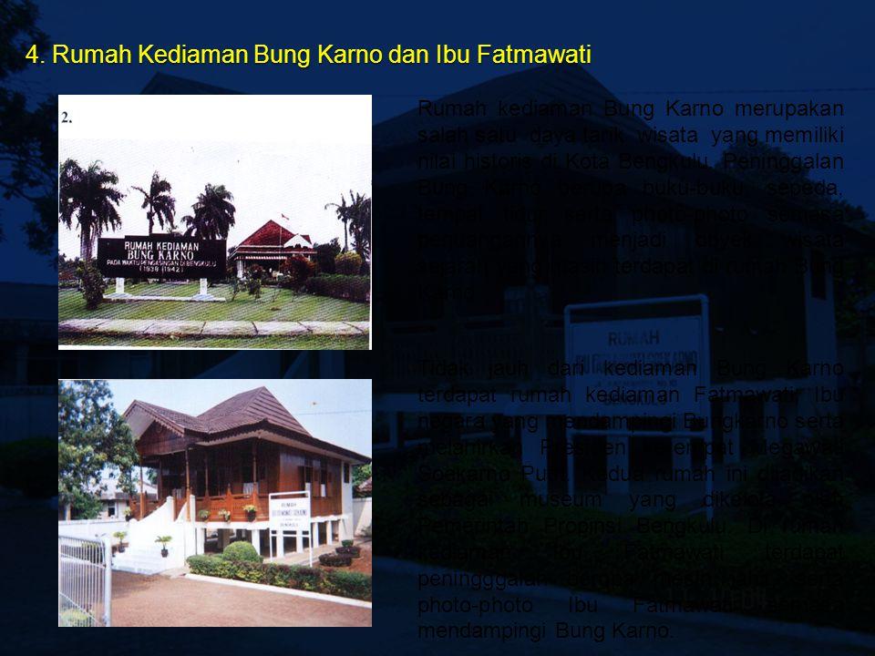 4. Rumah Kediaman Bung Karno dan Ibu Fatmawati