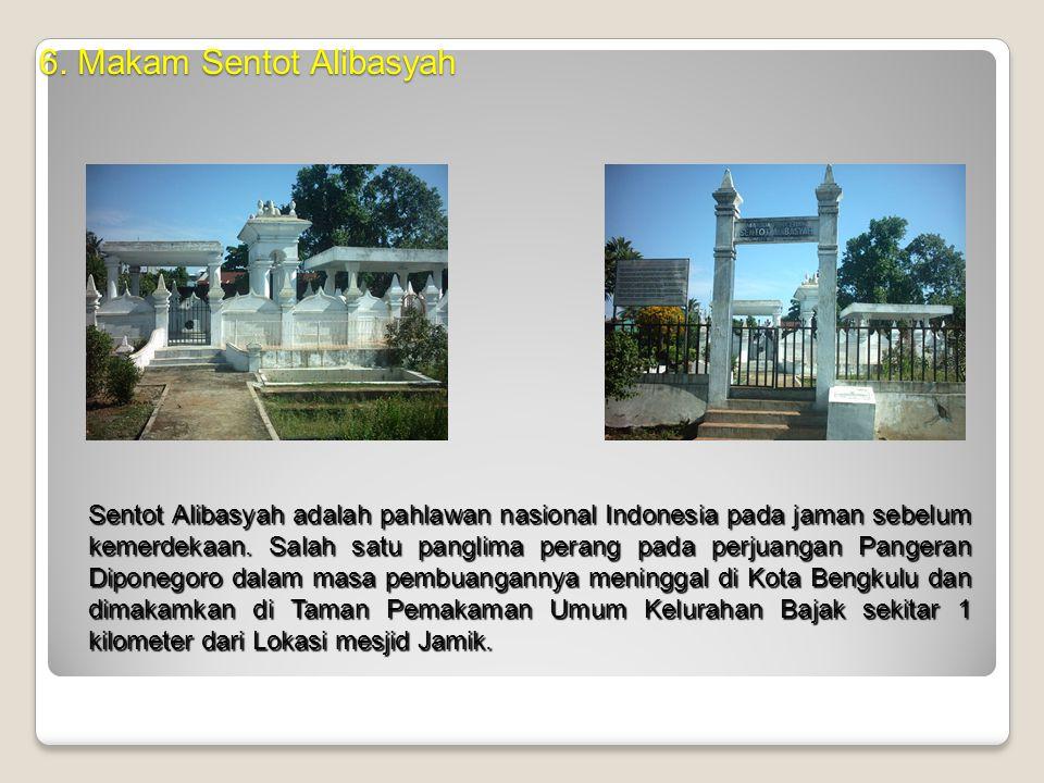 6. Makam Sentot Alibasyah