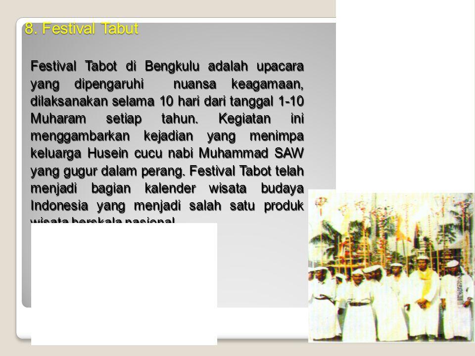 8. Festival Tabut
