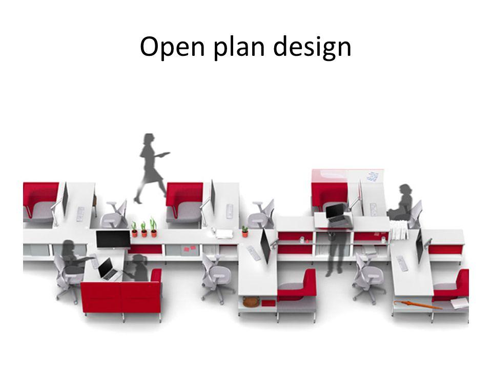 Open plan design