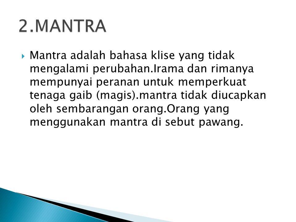 2.MANTRA