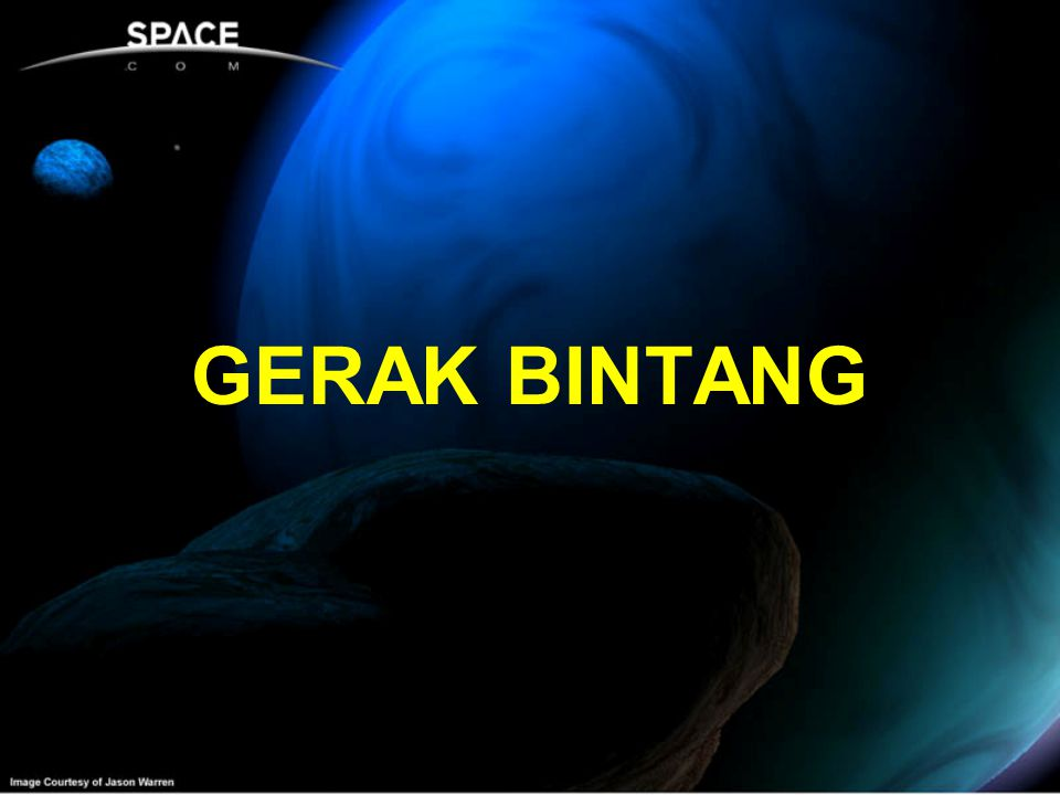GERAK BINTANG