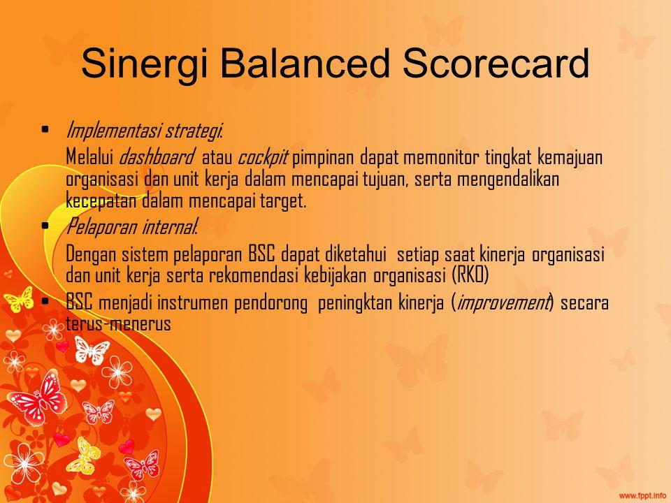 Sinergi Balanced Scorecard
