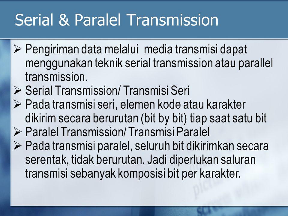 Serial & Paralel Transmission