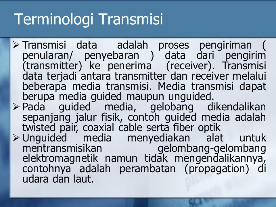 Terminologi Transmisi