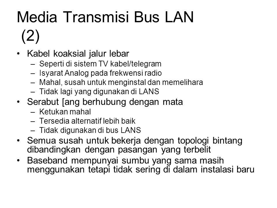 Media Transmisi Bus LAN (2)
